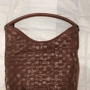Liebeskind Berlin weaved bag in EUC